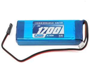Batterie réception 6.6v (1700mA) LiFe LRP 80gr
