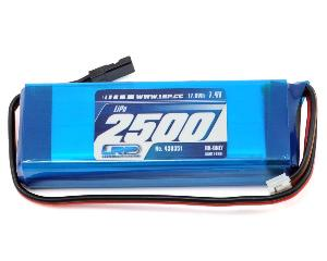 Batterie réception 7.4v (2500mA) Lipo LRP 90gr