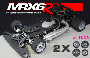 Mugen MRX-6R (version 2018) + 2 trains de pneus J-Tech